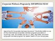 Corporate Wellness Program by TOURWELLNESS
