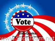 VOTING EVENTS POWERPOINT BACKGROUND