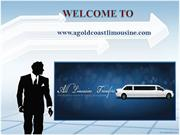 Limousine car in Gold Coast
