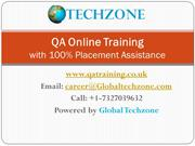 QA Testing Online Training