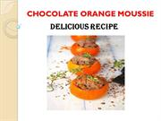 Orange  mousse recipe