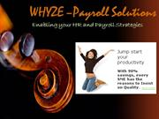 Payroll System-Whyze Solutions Singapore
