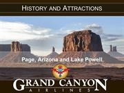 History and Attractions: Page, Arizona and Lake Powell
