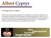 Albert Cyprys - Making Education Work