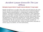 Accident Lawyer Knoxville The Law Offices