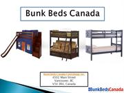 Bunk Beds for Kids and Adults- BunkBedsCanada
