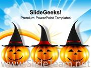 HALLOWEEN PUMPKIN FESTIVAL POWERPOINT BACKGROUND