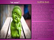 At ease - Lama Surya Das