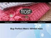 Buy Perfect Men's Winter Hats