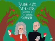 Steve Jobs tells 3 stories about teamwork