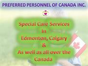 Special Care Services in Canada