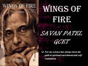 wings of fire BOOK REVIEW