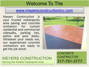 Foundation Repair Indianapolis- Stamped Concrete- Retaining Walls