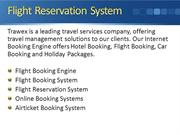 Trawex - Flight-reservation-system  - Flight booking online