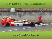 Watch Live Super Formula Japan Suzuka Circuit On MyTab