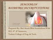 SHRI AKASH BHAI SUNDARKAND WALE [ BIOMETRIC SECURITY SYSTEM ]