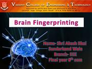 Brain Fingerprint Technology