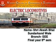 SHRI AKASH BHAI SUNDARKAND WALE [ ELECTRIC LOCOMOTIVES ]