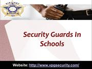 Security Guards In Schools