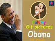 Funny Gif pictures of Barak Obama