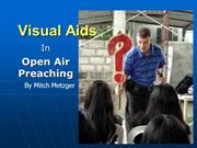 The Importance of Visual Aids by Mitch Metzger