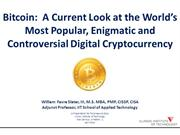Bitcoin and Cryptocurrency by William Favre Slater III - 2014
