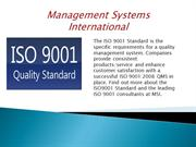 Management Systems International