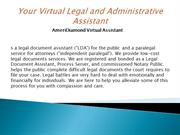 Your Virtual Legal and Administrative Assistant