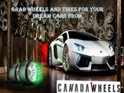 Canada Wheels offering best automotive tires and wheels