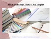 How to Hire the Right Freelance Web Designer
