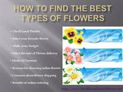 How To Find the Best Types of flowers