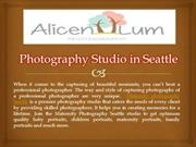 Photography Studio in Seattle