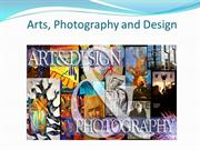 Arts, Photography and Design