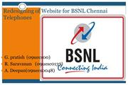Redesigning of Website for BSNL Chennai Telephones using