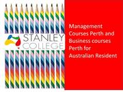 Management Courses Perth and Business courses Perth