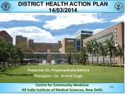 DISTRICT HEALTH ACTION PLAN