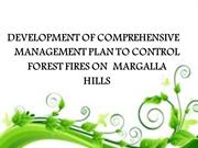 Forest Fire and its management plan