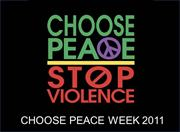 Choose Peace 2010-11