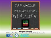 Youth Presentation - Choosing Peace