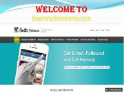 Buy Instagram Followers @ $7-  Get Instant 500 Followers