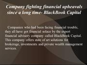 Client's success is our success, says BlackBook Capital!