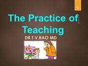 The Practice of Teaching.