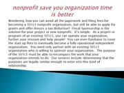 nonprofit save you organization time is better