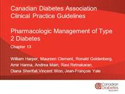 Pharmacologic Management of DM 2