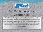 3rd party logistics companies