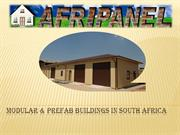 Modular & Prefab Buildings in South Africa