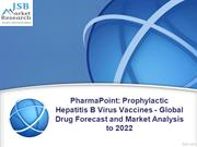 Prophylactic Hepatitis B Virus Vaccines - Global Drug Forecast and Mar