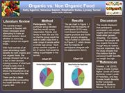 PPSY 572 Mohicans Group Project Organic vs. Non Organic