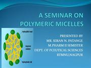 polymeric micelles