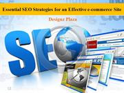 Essential SEO Strategies for an Effective e-commerce Site